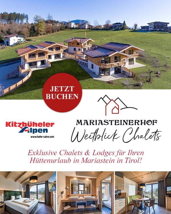 Weitblick Chalets - Bikeurlaub im Chaletdorf in Mariastein in Tirol