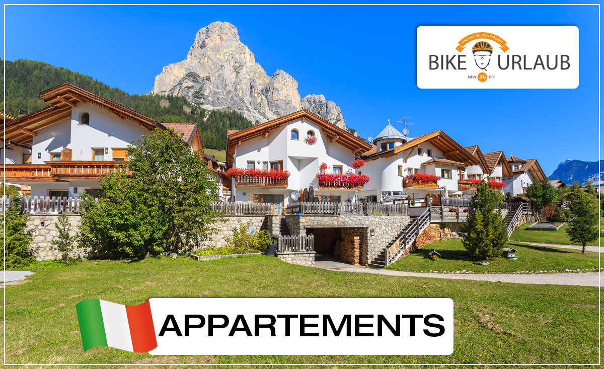 Appartements & Bike-Apartments - Bikeurlaub Italien Südtirol